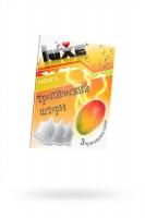 Презервативы Luxe КОНВЕРТ, Тропический шторм, манго, 18 см., 3 шт.