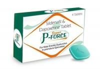 Super P-FORCE (Силденафил 100 mg + Дапоксетин 60 mg) таблетки для потенции (4 таб.)