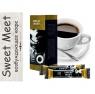 Sweet Meet возбуждающее кофе для двоих 1 упаковка 5 пакетиков по 5 гр.